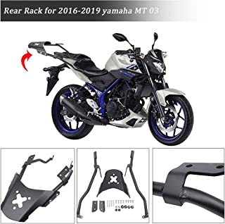 FATExpress for 2016-2019 Yamaha MT 03 Motorcycle Rear Luggage Cargo Rack Extended Shelf Bar Carrier Plate kit MT03 MT-09 2017 2018 16-19