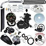 Seeutek 26' or 28' 80cc Bike Bicycle Motorized 2 Stroke Cycle Motor Engine Kit Set