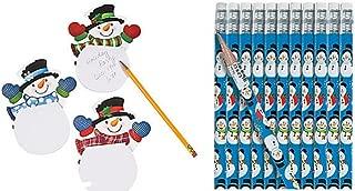 Snowman Pencils & Notepads (48 Pcs)