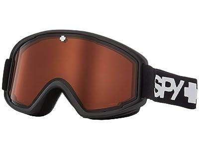 Spy Optic Crusher (Matte Black Persimmon) Snow Goggles