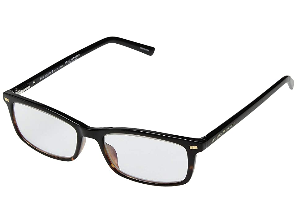 Kate Spade New York Jodie (Black Havana) Reading Glasses Sunglasses