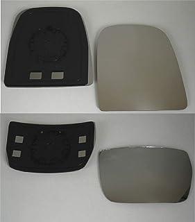 Carpentis Espejo Tapa de Espejo Derecho Imprimado Se Puede Pintar Tapa Cubierta Para Retrovisor Exterior Compatible Con Polo 9N 2005-2009 Pro