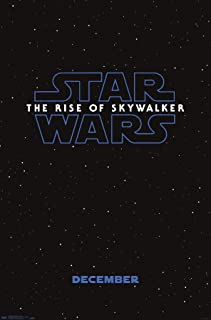 Trends International Star Wars: The Rise Of Skywalker - Logo Teaser One Sheet Wall Poster, 22.375