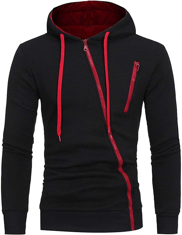 Aayomet Mens Hoodies Zip Up Casual Big and Tall Long Sleeve Hooded Tops Fashion Outwear Mens Hoodies