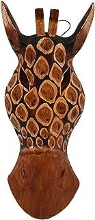 Hand Carved Wooden Giraffe Masks (Art Giraffe)