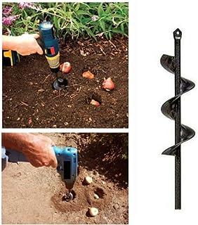 80x300mm Weite Durable Auger Drill Bit Non-Slip Garden Plant