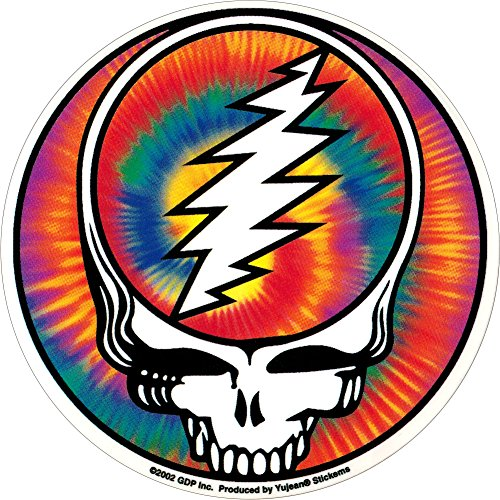 Grateful Dead - Steal Your Face Tie Dye - Sticker/Decal