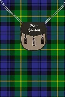 Clan Gordon Tartan Journal/Notebook