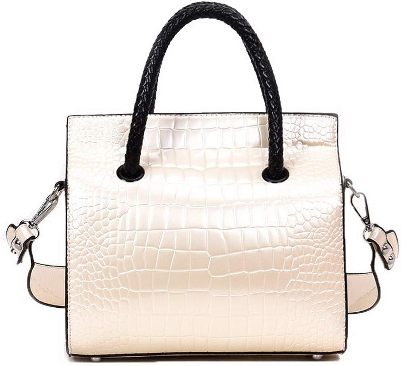 AmoonyFashion Women's Fashion Tote Bags Pu Buckle Crossbody Bags,BUTBS182403