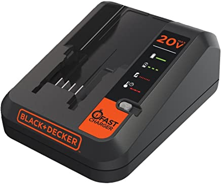 BLACK+DECKER 20V MAX Lithium Battery Charger, 2 Amp...