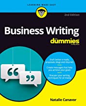 Business Writing For Dummies (For Dummies (Lifestyle))