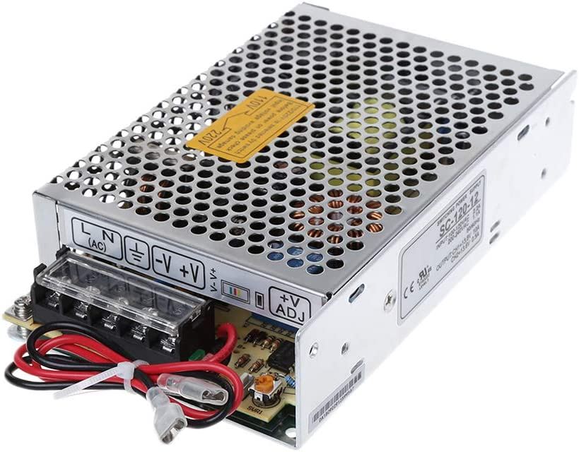 MISHITI SC-120W-12V10A Switching Power Supply with UPS Monitor Battery Charger