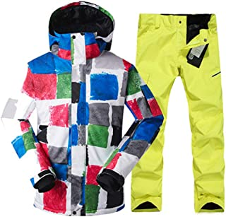 Ski Suit Winter Single Double Board Snow Suit Outdoor Windproof Warm Waterproof Skiing Jacket Ski Pants