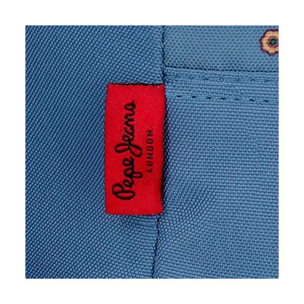 61GeCntGcoL. SS600  - Mochila de Paseo Pepe Jeans 6382161 Pam, 32 cm, Multicolor
