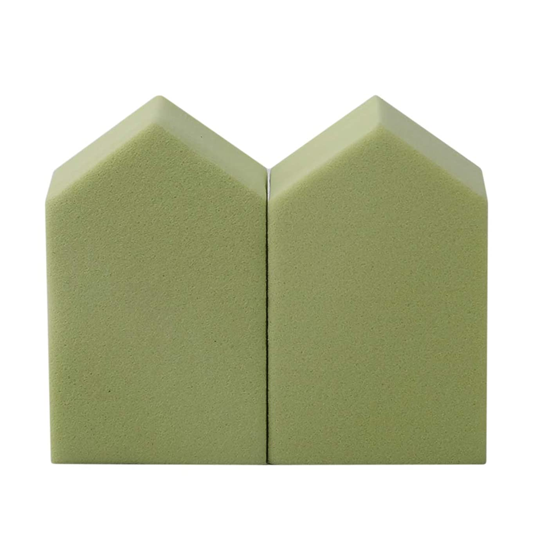 どのくらいの頻度で多様体スイッチKLUMA スポンジパフ メイク ソフト 五角形 メイクアップ 乾湿兼用 柔らかい 崩さない 清潔衛生 化粧道具 メイクツール 15個セット グリーン
