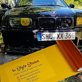 Suchergebnis Auf Für Scheinwerfer Folie 1a Style Sticker Auto Motorrad