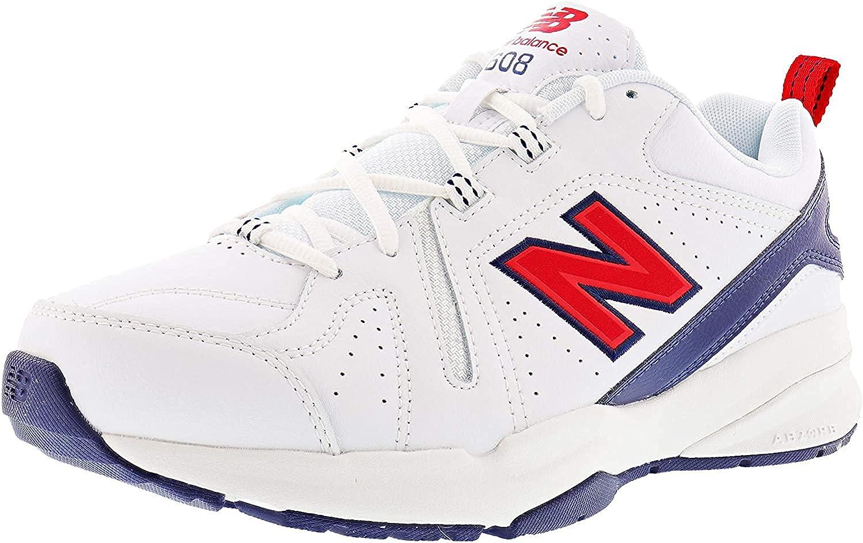 New Balance Cheap mail order shopping Men's 608 Import V5 Red Trainer White Navy