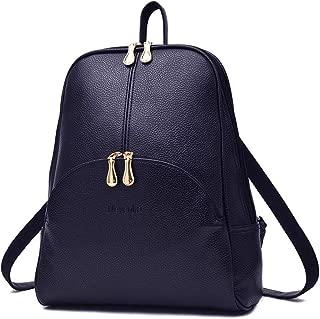 Nevenka Women Leather Backpack Purse Ladies Waterproof Daypacks Fashion Backpacks for Teenager Girls