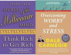 Secrets Of The Millionaire Mind +Overcomming Worry and Stress (Set of 2 Books)