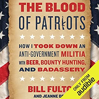 The Blood of Patriots audiobook cover art