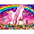 Ravensburger Horse Dreams - 100 Piece Glitter Jigsaw Puzzle for Kids – Every Piece is Unique, Pieces Fit Together Perfectly from