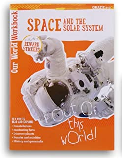 Space and the Solar System Discovery Workbook with Reward Stickers - Grades 2-3