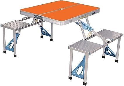 Ensemble de Table et Chaise de Camping portative Table de ...