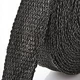 Arlows 10m Keramik Hitzeschutzband schwarz (Breite: 25mm)