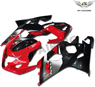 NT FAIRING Red Black Injection Mold Fairings Fit for Suzuki 2004 2005 GSXR 600 750 K4 04 05 GSX-R600 Aftermarket Painted Kit ABS Plastic Motorcycle Bodywork