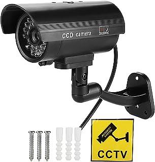 Stöldskyddskamera falsk säkerhetskamera, CCTV-kamera, säker svart 3-6 månaders arbetshotell för stormarknad