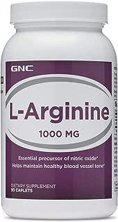 GNC Arginine 1000, Tablets, 90 ea