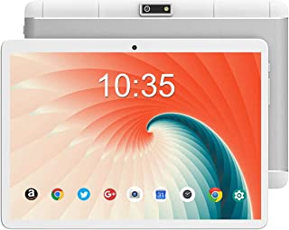 Tablet 10.1 Inch Android 9.0 3G Phone Tablets WiFi with 32GB Storage Dual Sim Card 2MP+5MP Dual Camera,Bluetooth,Quad Core...