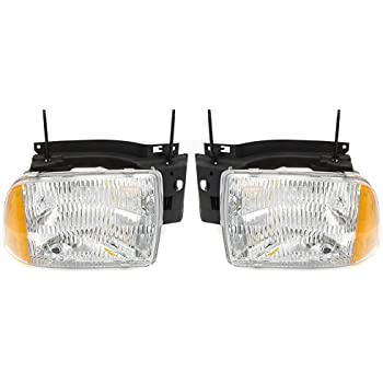 amazon com chevy blazer replacement headlight assembly composite type 1 pair automotive chevy blazer replacement headlight assembly composite type 1 pair