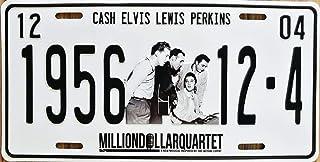 Midsouth Products Million Dollar Quartet 1956 Metal License Plate