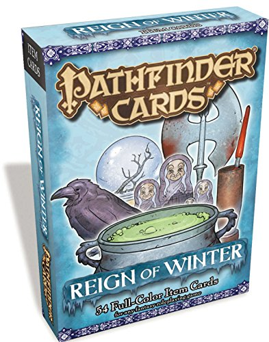 Pathfinder Item Cards: Reign of Winter Adventure Path