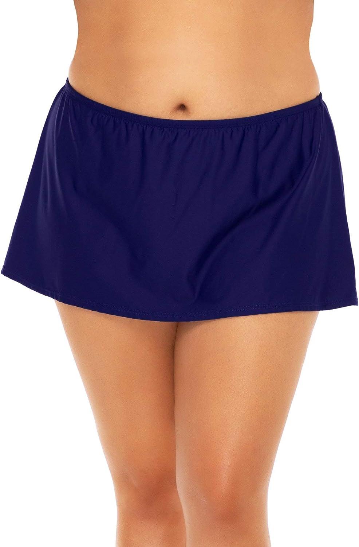 SUNSETS ESCAPE Women's Island Time Swim Skirt Bottom Swimsuit
