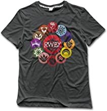 GOOOET Men's RWBY Ring Cotton T Shirts