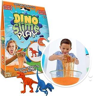 Slime Play Dino 60g: Orange ( 2 figurines)