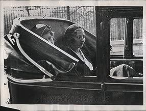 Historic Images - 1934 Vintage Press Photo Princess Ingrid of Sweden Arrives in Paris