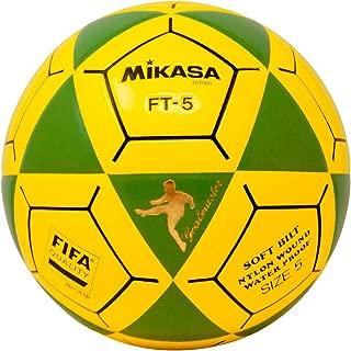 Mikasa FT5 Goal Master Soccer Ball, Green/Yellow, Size 5