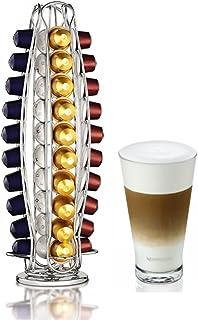 Home Treats Nespresso Cápsula soporte giratorio, 40Cápsulas