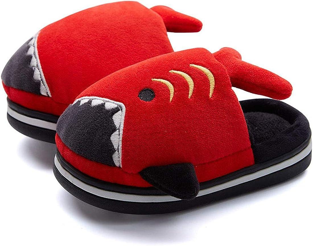 FCTREE Boys Girls Warm Slippers Toddler Kids Winter Shoes Baby Sahrk Household Slippers