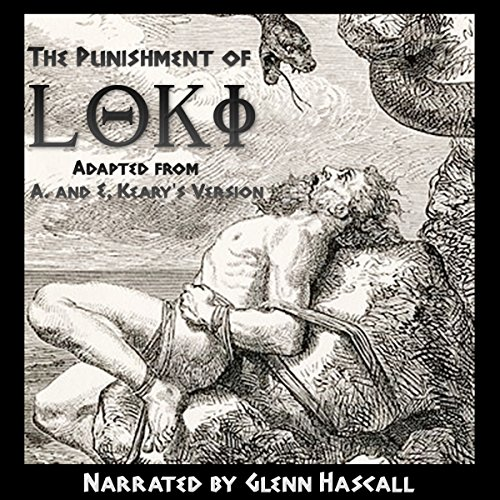 The Punishment of Loki audiobook cover art