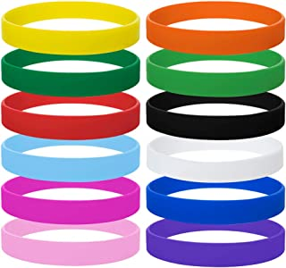 GOGO Wholesale Rubber Bracelets for Kids Silicone Wrist Bands for Events Rubber Bands Party Favors