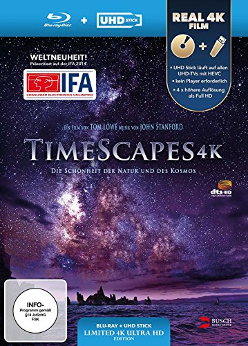 TimeScapes 4K (UHD Stick in Real 4K + Blu-ray) - Limited Edition [Blu-ray]