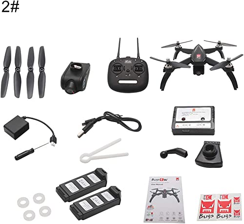 Honey MoMo RC Quadcopter , MJX Bugs 1080P WiFi FPV Kamera GPS Positionierungsh  halten RC Quadcopter Spielzeug - 2