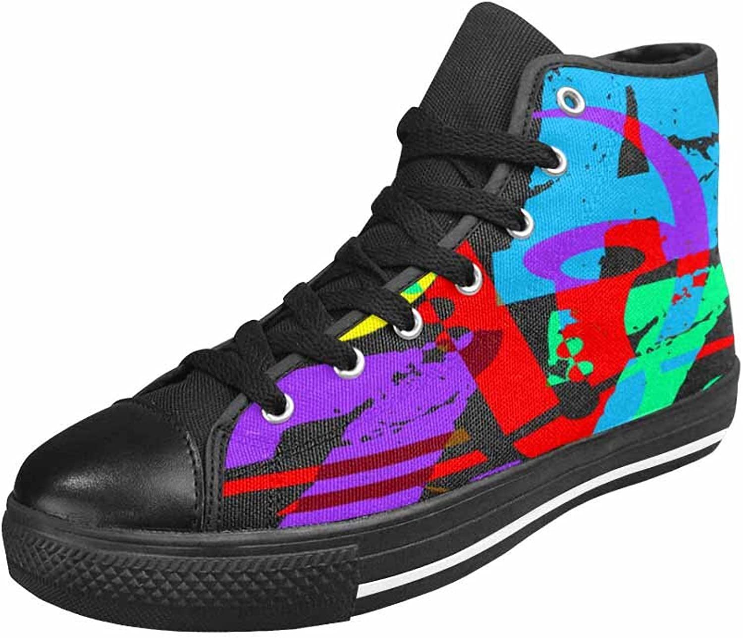 Qchengshix Women's Low Top Classic Canvas Fashion Sneaker Basketball Tennis Athletic shoesCool and Hip Jazz