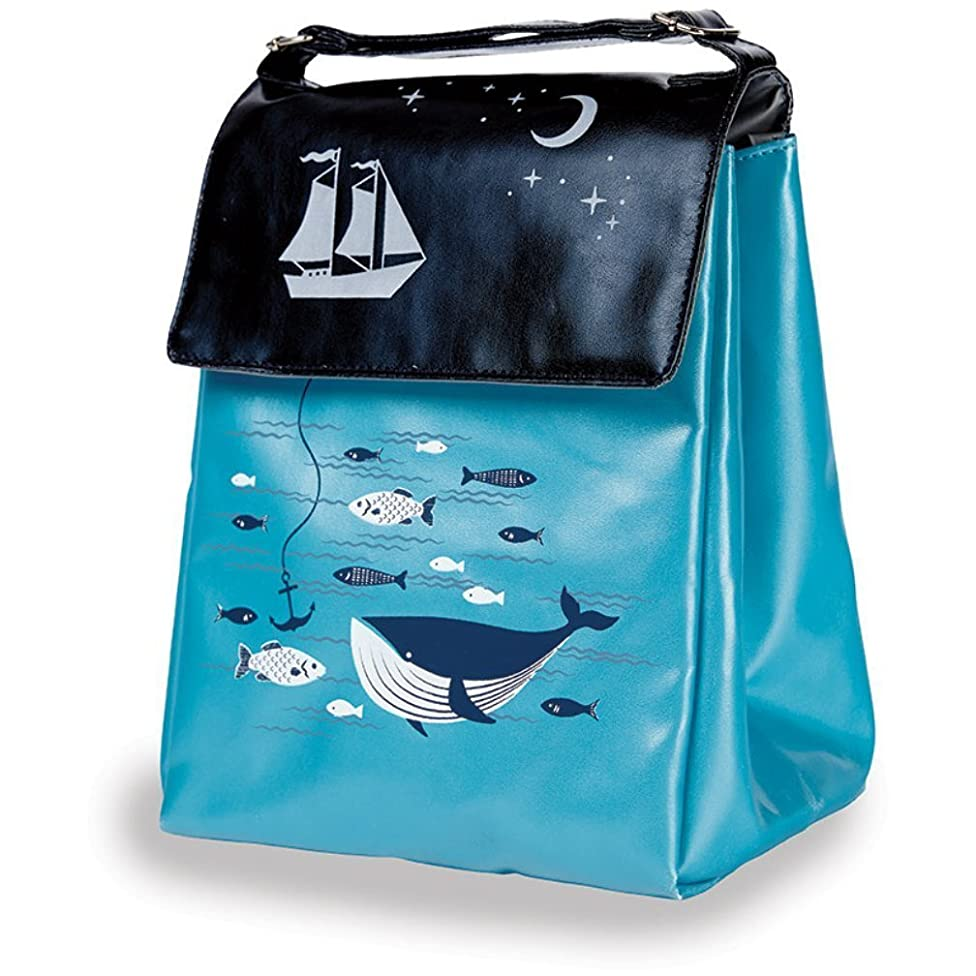 Tall Lunch Tote for Kids Insulated Reusable Toddlers Lunch Bag by Kitsch'n Glam