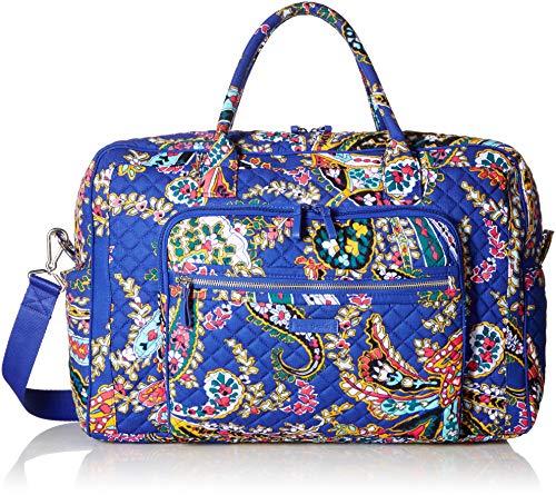 Vera Bradley Iconic Weekender Travel Bag, Signature Cotton Multi Size: One size