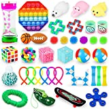 IJO 38 Pack Sensory Fidget Toys Set for Kids and Adults-Relief Stress and Anxiety Autism,ADHD,OCD- Perfect for Education Classroom Rewards-Gifts for Boys and Girls of 3 4 5 6 7 8 9 10 Years Old and Up